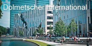 دارالترجمه رسمی Dolmetscher International
